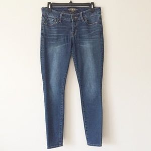 Lucky Brand Lolita Skinny Jeans Blue Mid-Rise 4